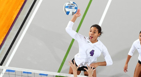 Women's volleyball brings home victory