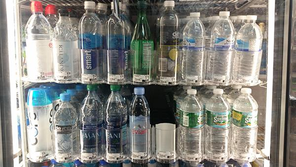 One way to see the plethora of available water is in your local Duane Reade