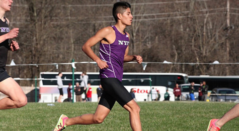 Cross country runners pace themselves before ECACs