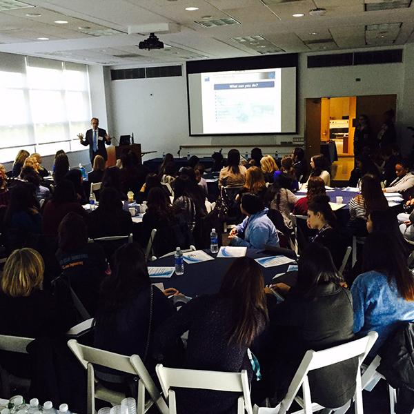 A workshop on cyber security careers for women took place at this year's Cyber Security Awareness Week.