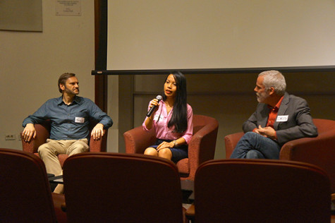 Professors share college experiences with first-generation students