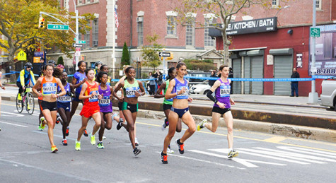 Marathon runners take NYC