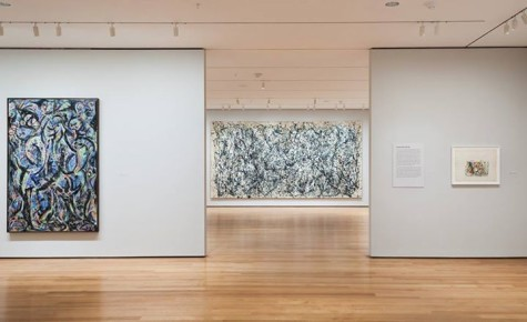 Pollock exhibit at MoMA goes beyond the splatter