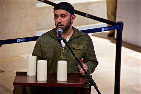 NYU holds vigil for victims of terrorist attacks in Paris, Beirut, Baghdad