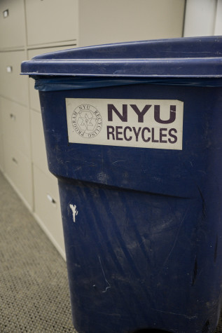 NYU sustainability efforts improving