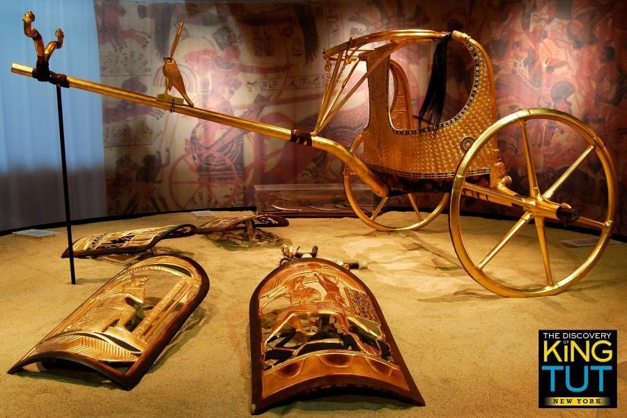 King Tut Tomb Discovery: Archaeological Wonders Of King Tut's Tomb Recreated For
