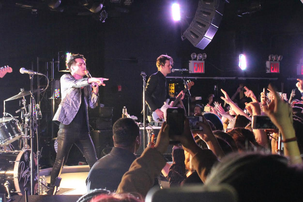 Panic! at the Disco played (Le) Poisson Rouge Jan. 14 2016.