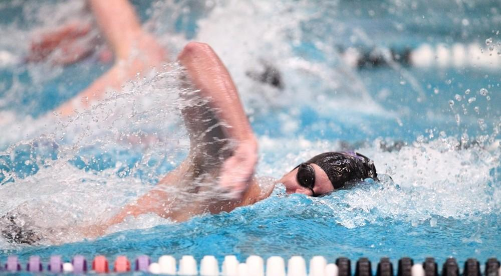 Both men's and women's swimming and diving teams both competed in Pennsylvania against West Chester University on Saturday where the men lost 178-12, while the women had a 204-82 win.