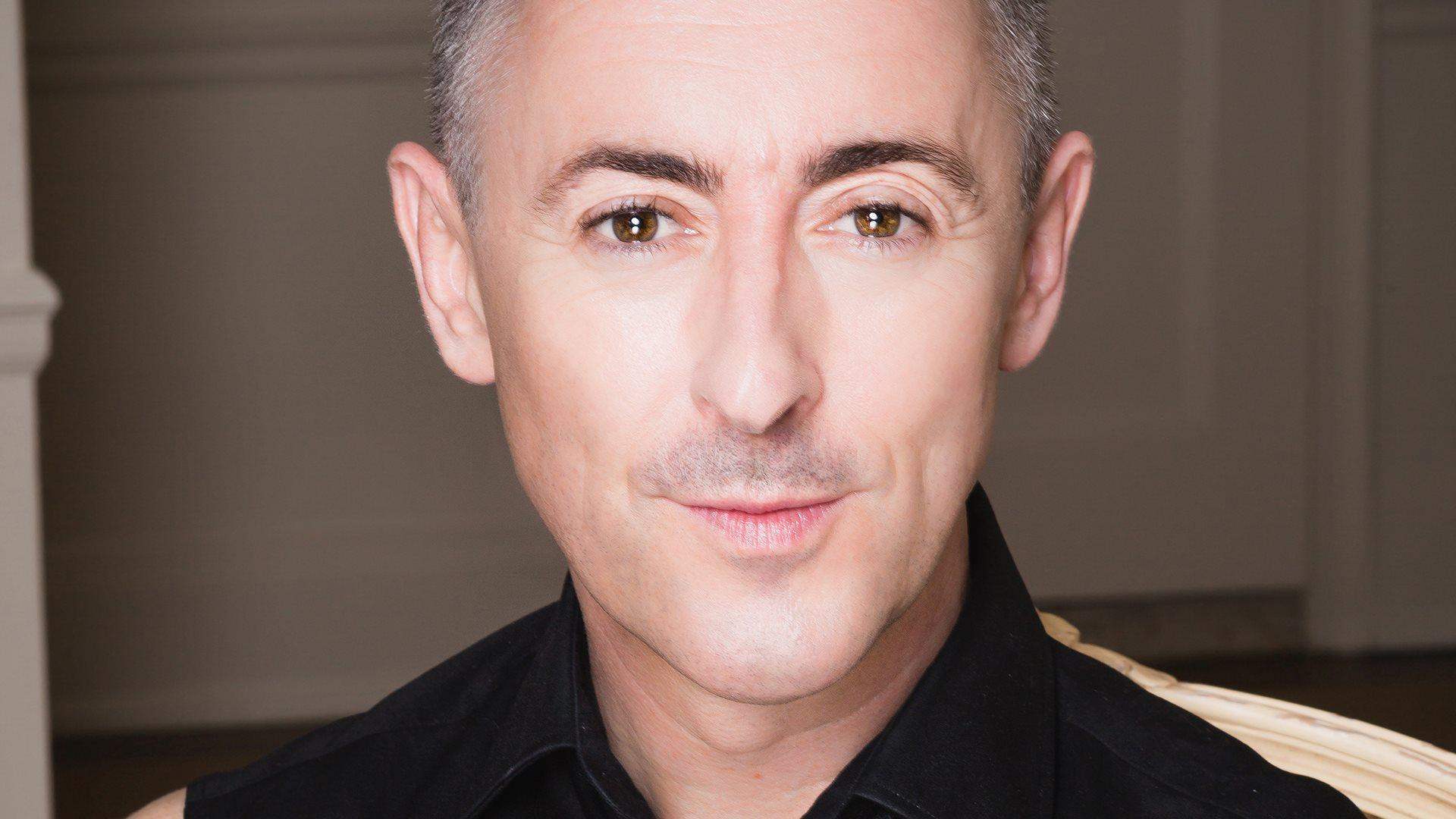 """Actor Alan Cumming is selling his album, """"Alan Cumming Sings Sappy Songs: Live at Café Carlyle"""", on his North America cabaret show tour."""