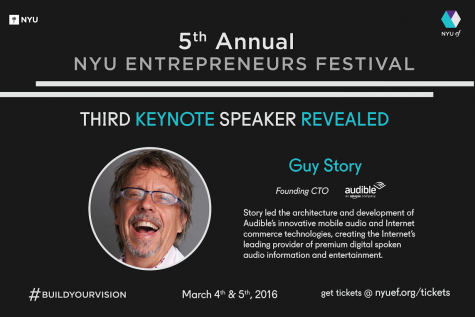 Founding CTO of Audible To Be Final Entrepreneurs Festival Keynote Speaker