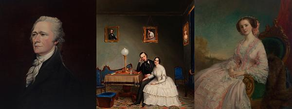 """""""Picturing Prestige: New York Portraits 1700-1860"""" is a current exhibition at the Museum of the City of New York which showcases artwork from three different eras of New York City."""