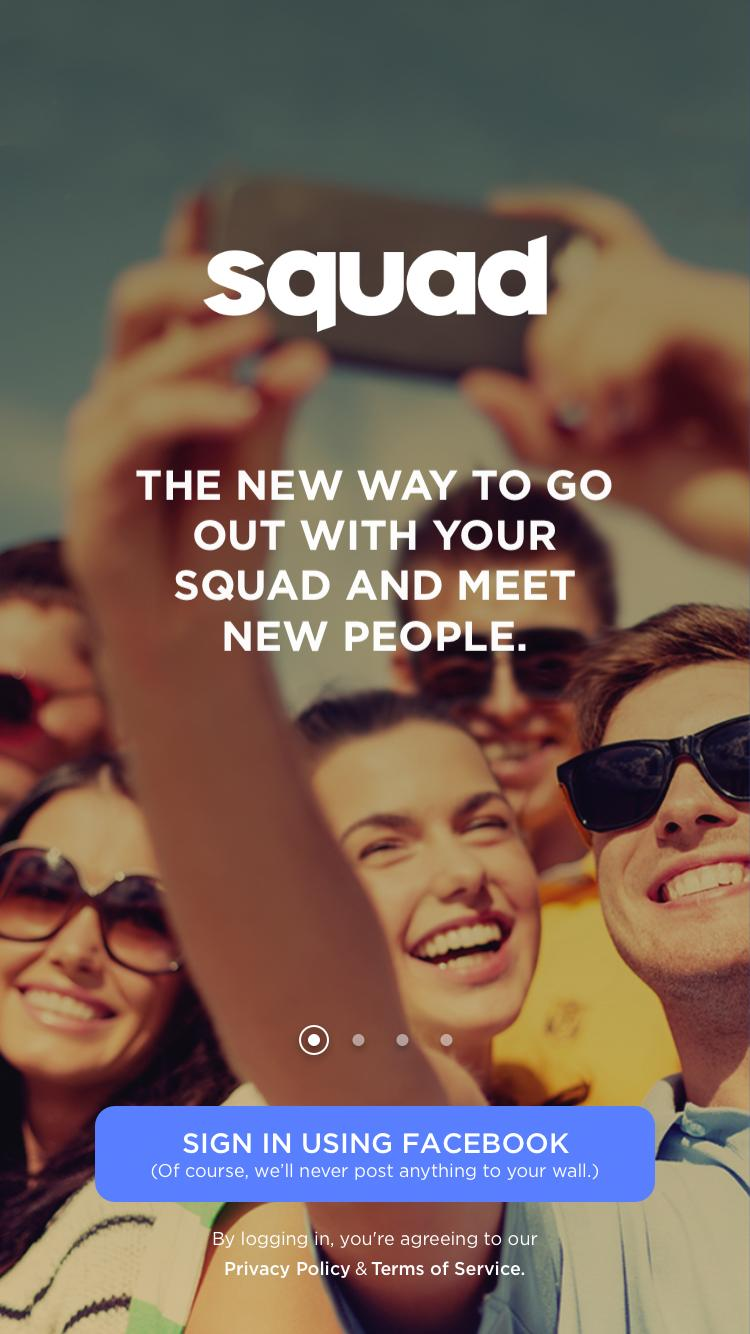 Squad is a new app developed by Adam Liebman in an attempt to make finding groups of friends easier.