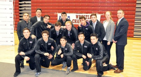 Grapplers Snag Fifth Straight UAA Title