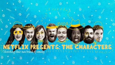 Comedians Personalize Episodes of New Netflix Original Series 'The Characters'