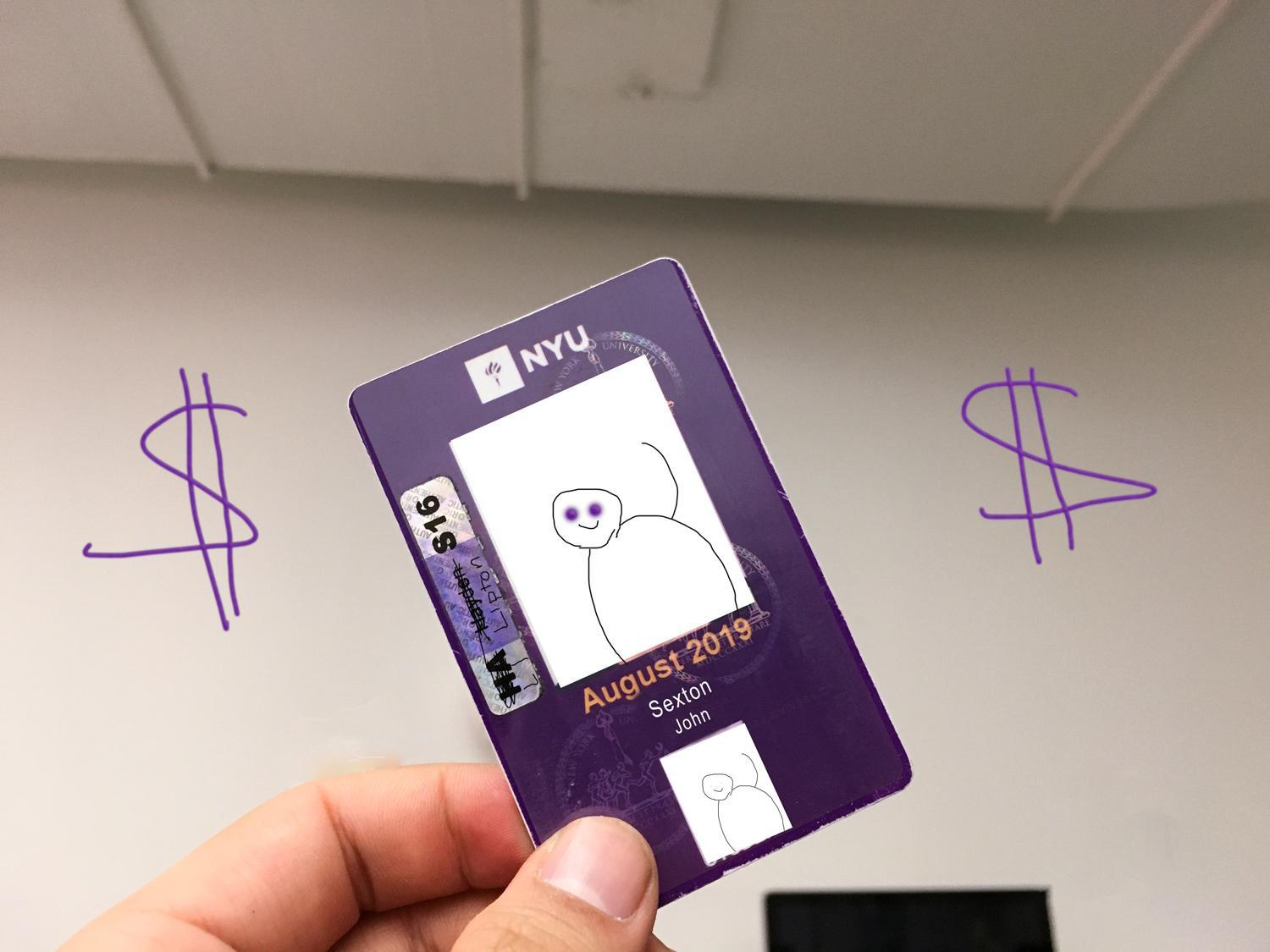 NYU IDs will see an increase in use now that students are now paid by campus cash.