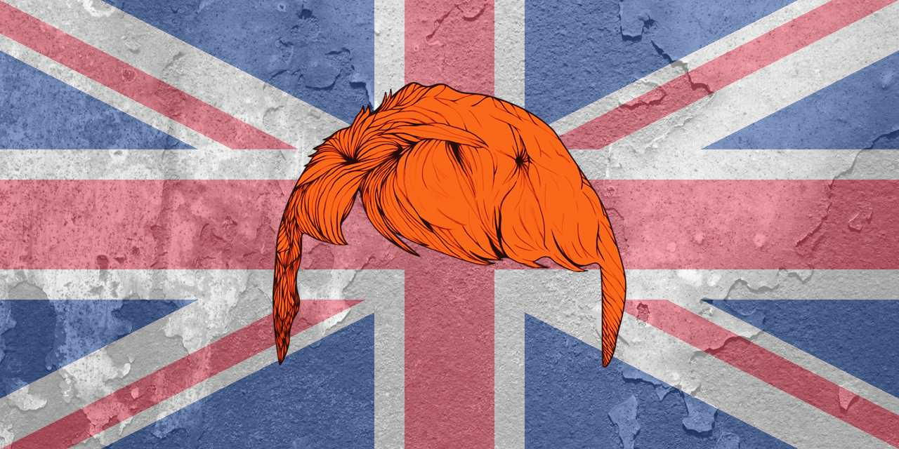 Being a red head doesn't get any easier across the pond.