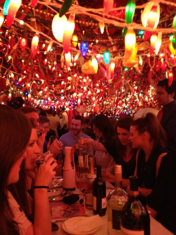 Some say that the hundreds of lights in Panna II contribute to the incredibly flavor of the Indian food.