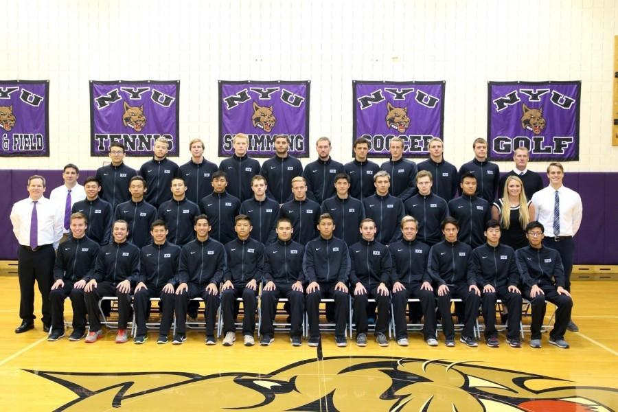 NYU%E2%80%99s+Men%E2%80%99s+Swimming+team+finished+their+season+in+9th+place.