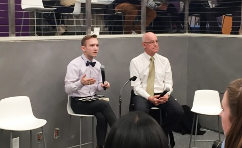Hamilton Uses First Town Hall to Discuss NYU Affordability, Global Networking