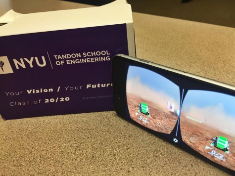 Tandon Sees 2020 With VR Goggles