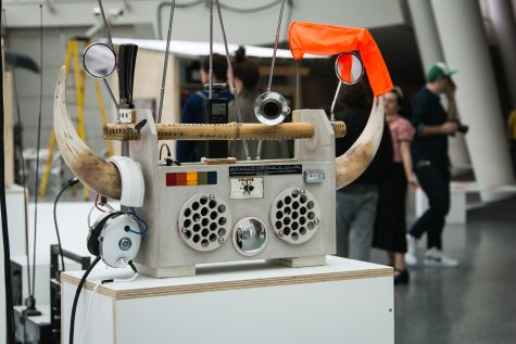 Tom Sachs Brings the Beat to the Brooklyn Museum with Boombox Retrospective