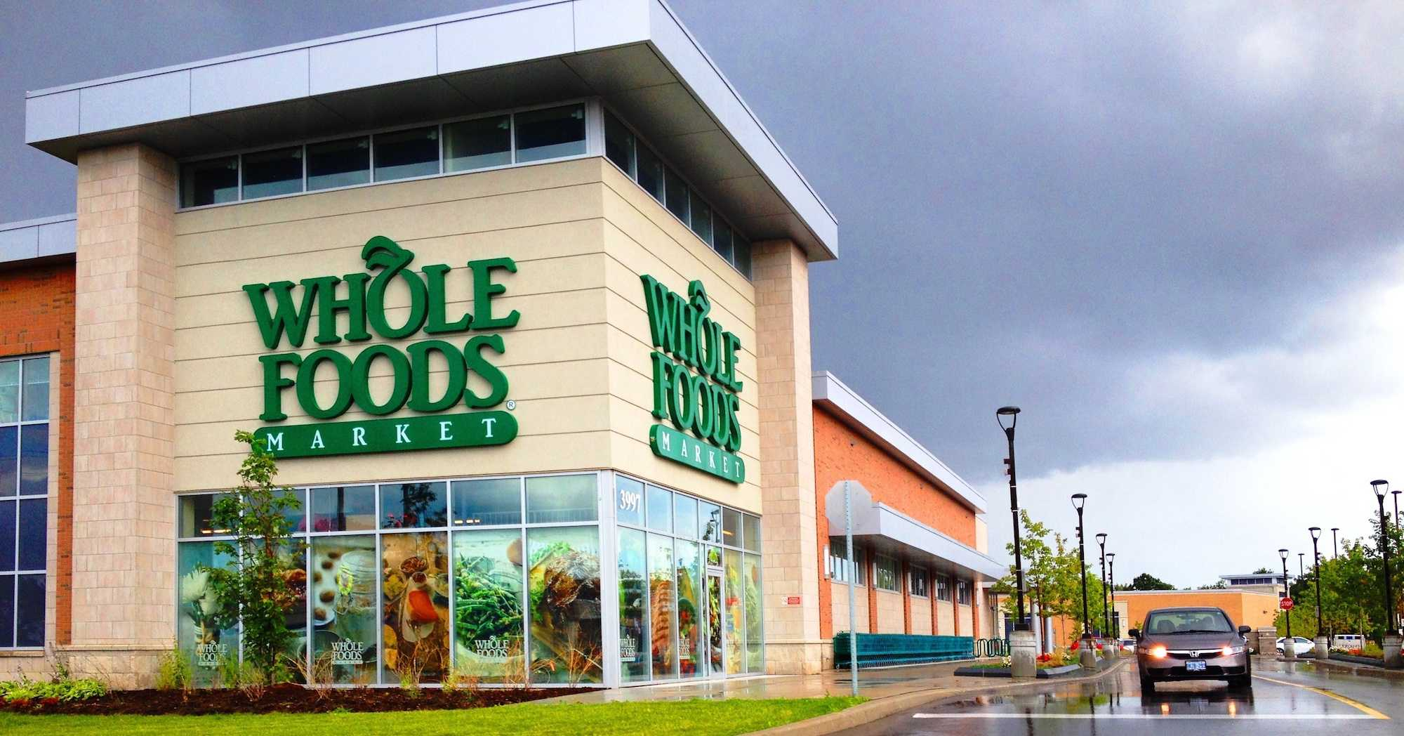 Many stores like Whole Foods are flooded into affluent neighborhoods, but remain hard to reach in minority demographics.
