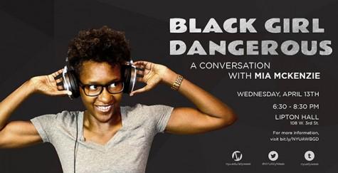 Black Girl Dangerous' Mia McKenzie Speaks at NYU Ally Week