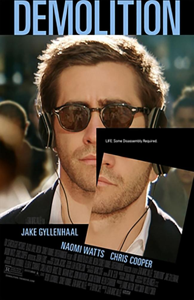 Jean Marc Vallee's film Demolition follows the story of Davis Mitchell, portrayed by Jake Gyllenhaal, as he goes through an existential crisis.