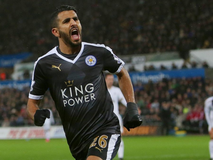 Midfielder+Riyad+Mahrez+has+been+a+critical+part+of+Leicester+City%27s+shocking+run+to+the+Premier+League+Title+this+year.