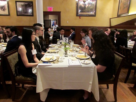 Proper Over-Meal Interview Etiquette