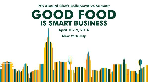 The Annual Chefs Collaborative Summit took place in the NYU Kimmel Center of University Life from April 10 - 12.