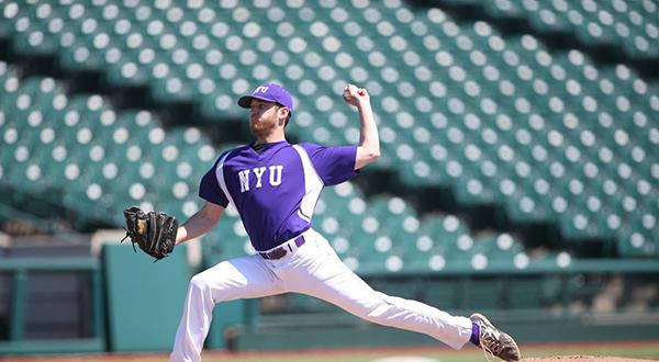 NYU Baseball played three games over this past weekend, beating CCNY on Friday 9-0, and Lehman College twice on Saturday, 6-2 and 10-4.