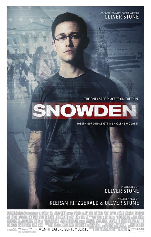 """Joseph Gorden Levitt stars in Oliver Stone's new feature film """"Snowden"""" based on the story of Edward Snowden, former employee of the CIA."""
