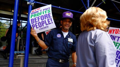 Health Care Union Vocalizes Concern for NYU Langone Workers' Benefits