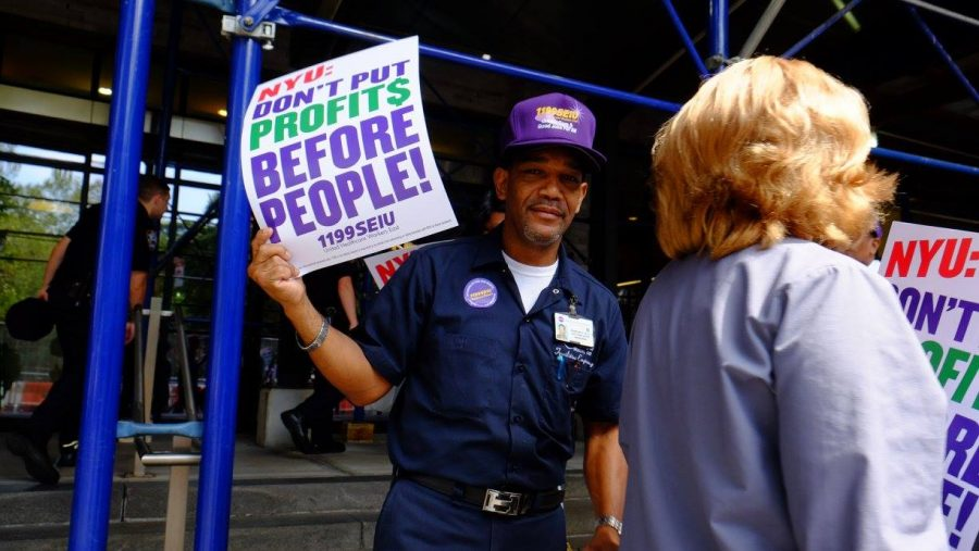 Health Care Union Vocalizes Concern For Nyu Langone Workers