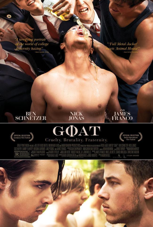 "Director Andrew Neel's ""Goat"" features two brothers and their experiences in a fraternity during"