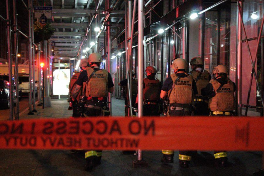 The+FDNY+Rescue+Task+Force+responds+to+an+explosion+in+Chelsea+which+down+the+surrounding+two-block+area.