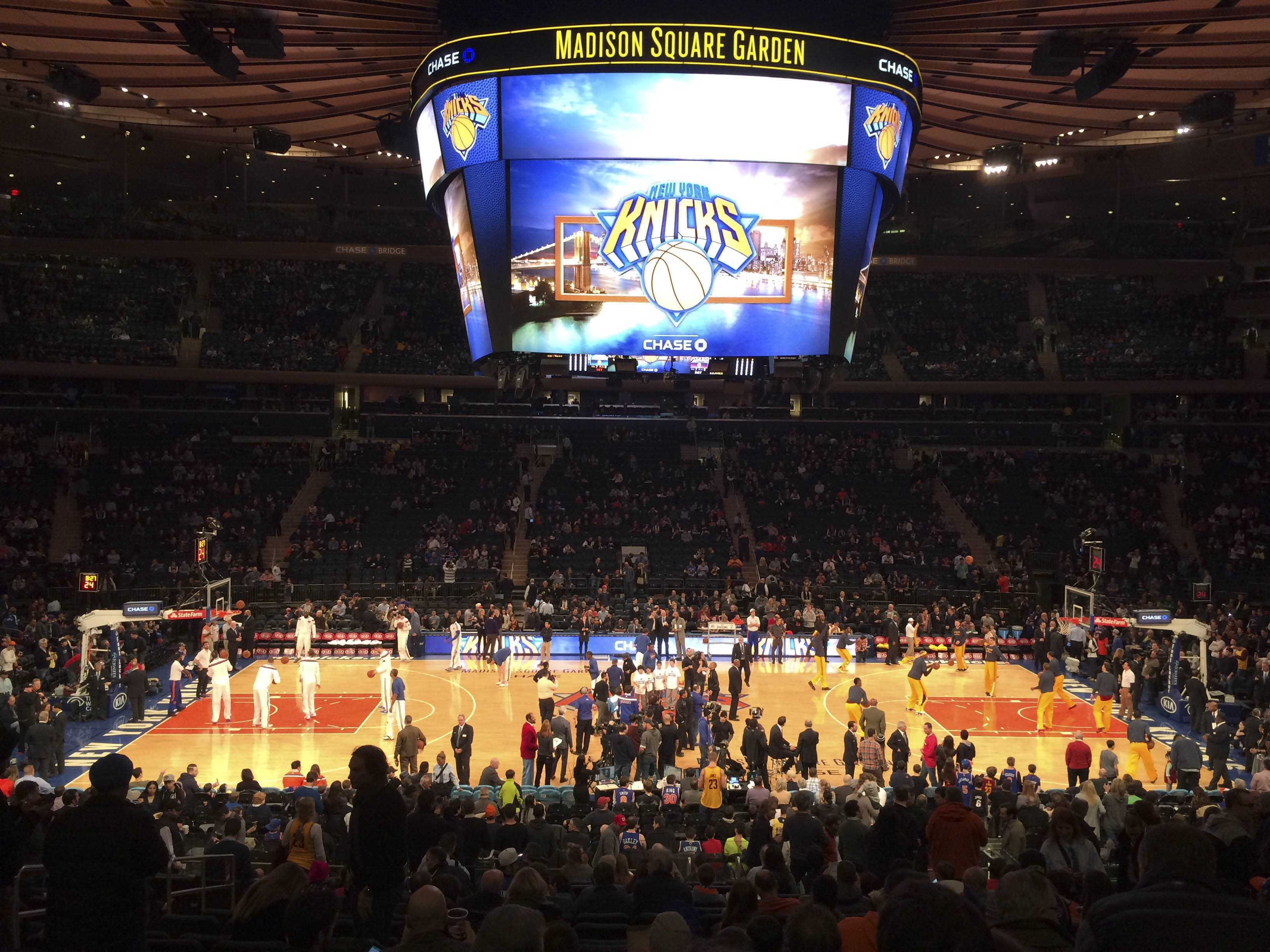 Attending a Knicks game is one of many fun and exciting events you can attend on the weekends while in New York.