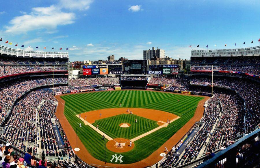 The+Yankee+Stadium+in+the+Bronx+is+an+iconic+space+for+sports+in+NYC.