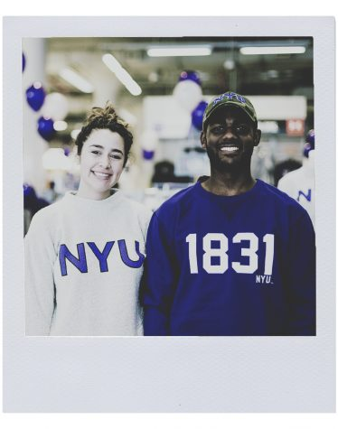 NYU Students Wear Their Pride Extra Small