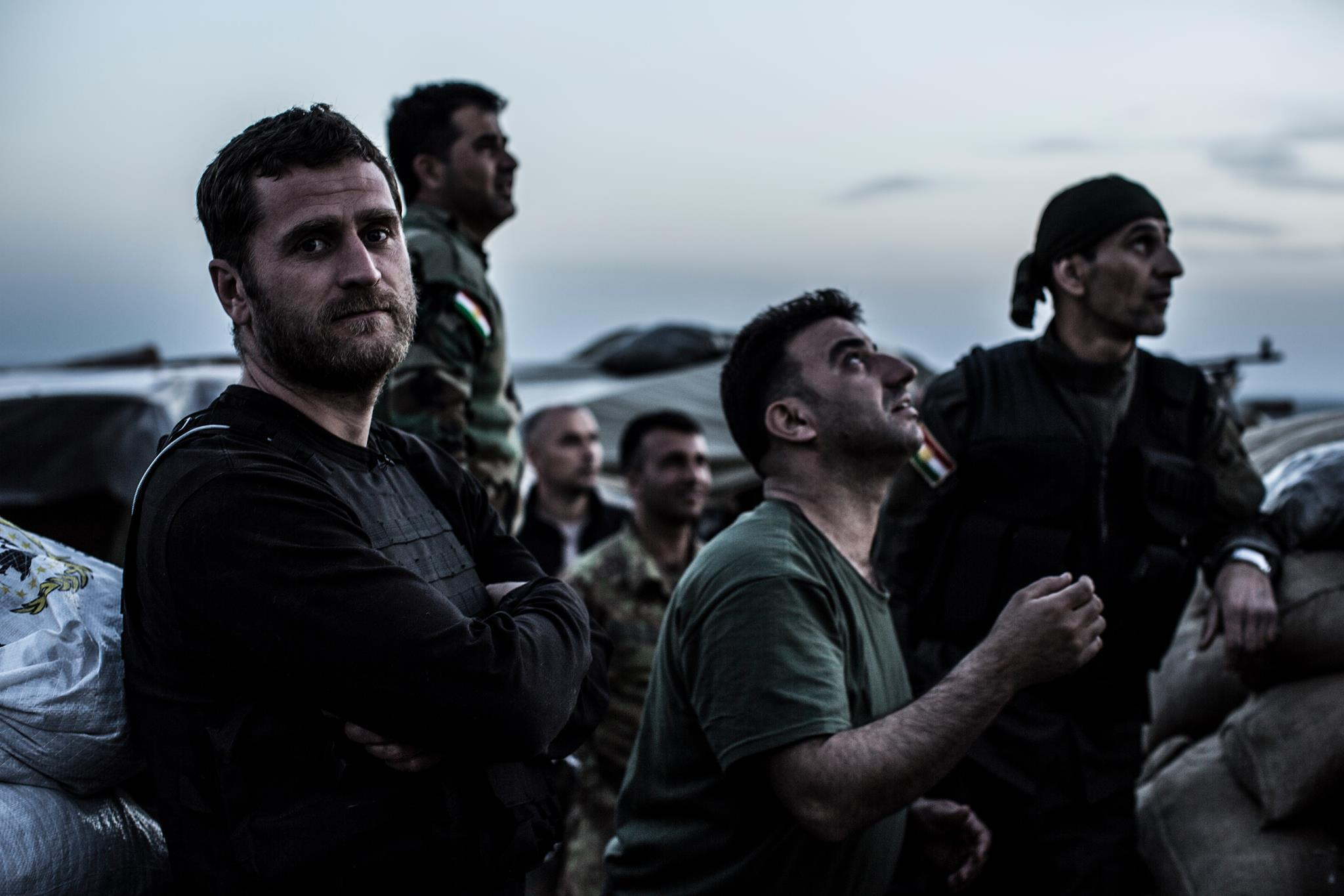 """Vice displays the harsh reality of the Syrian front line in the war against ISIS, in the Emmy nominated documentary """"Fighting ISIS."""""""