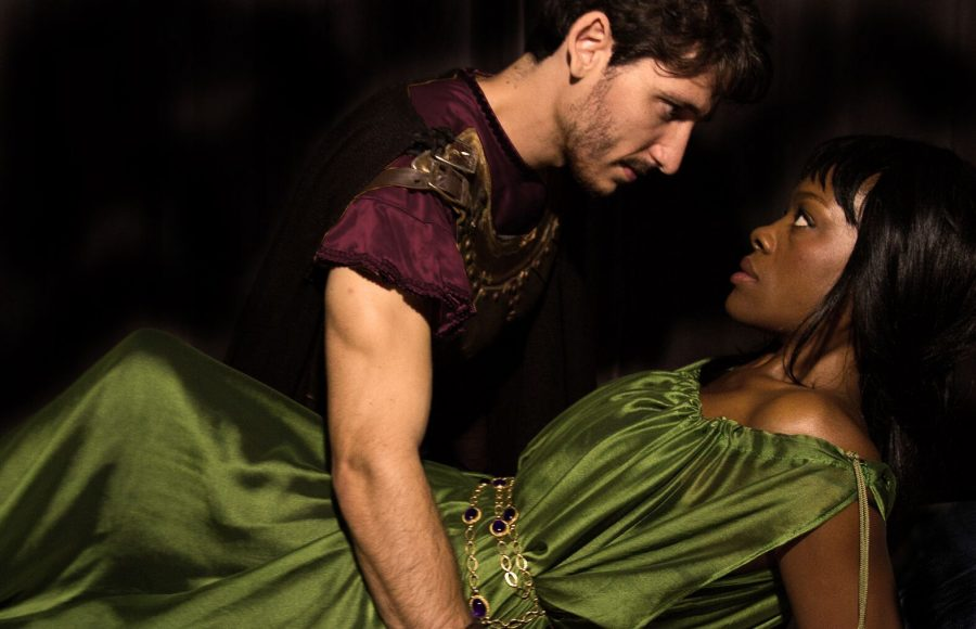 Aaliyah+Habeeb+and+Leighton+Samuels+portray+the+Romans+Lucrece+and+Sextus+Tarquinius+in+the+New+York+Shakespeare+Exchange%27s+heart-wrenching+performance+of+this+Shakespearean+classic.
