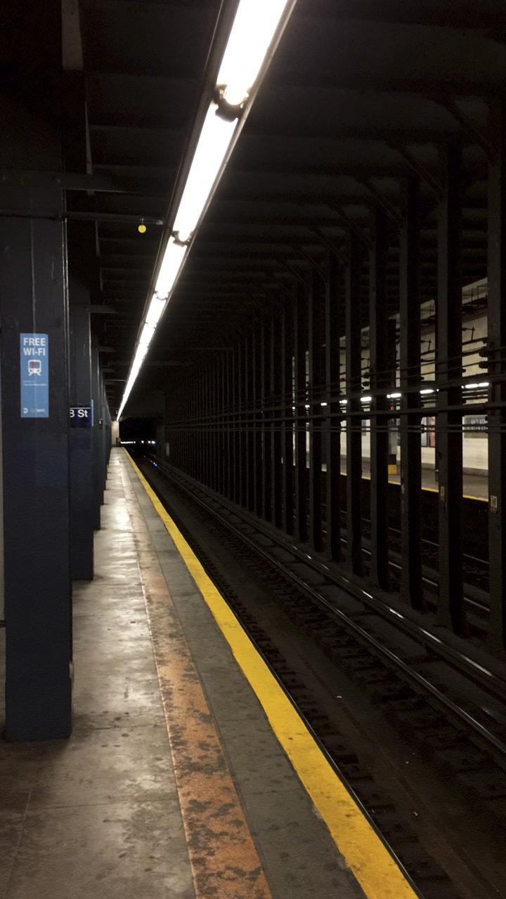 Example of an underground New York City Subway still in use.