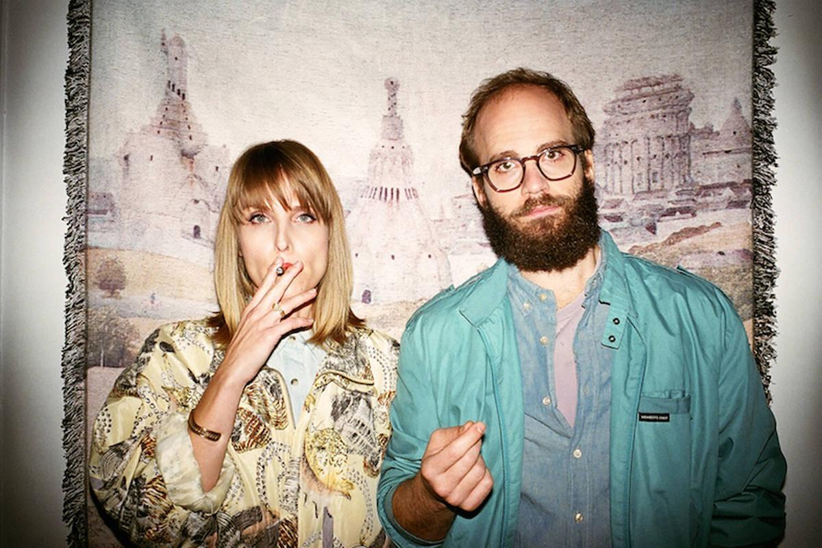 """Husband and wife duo Ben Sinclair and Katja Blichfeld, creators of the new HBO show, """"High Maintenance"""" visited NYU on September 28 for a screening of the second and third episodes, as well as a Q&A with the audience."""