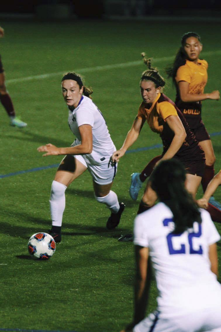 Although new to collegiate sports, freshman Alex Benedict has already made her mark on the NYU women's soccer team.