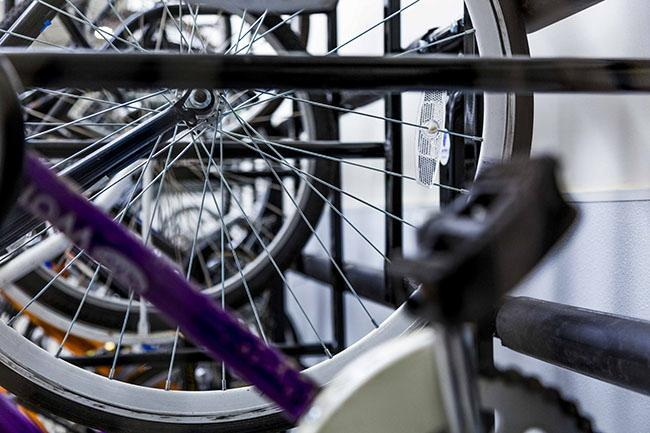 Bikes+are+available+at+most+NYU+residence+halls+and+buildings+around+campus%2C+making+both+exercise+and+transportation+easily+accessible+and+free.+