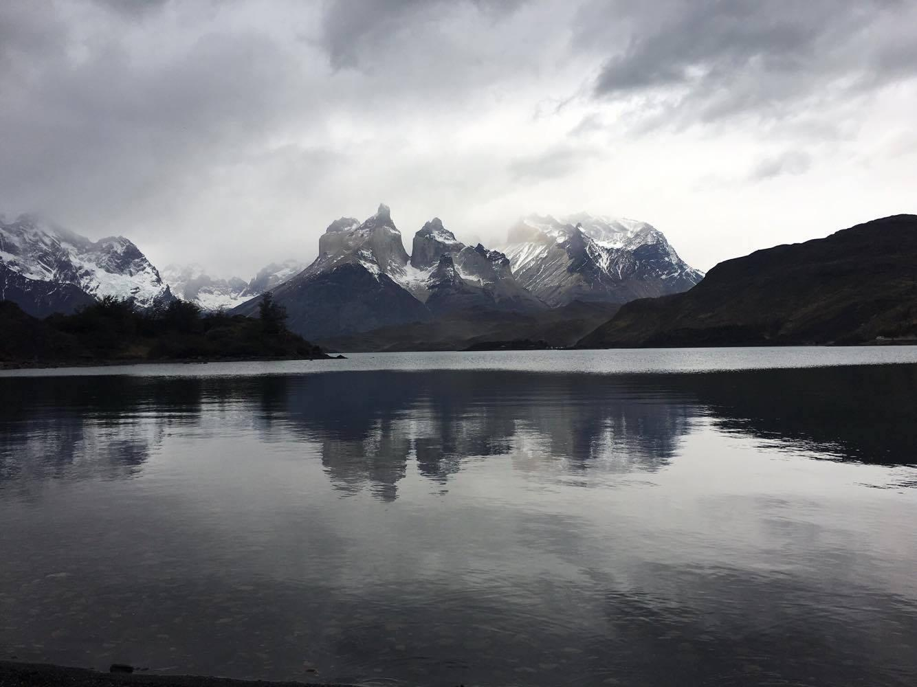 The views at Torres del Paine are so incredible that they can make a person feel one with nature.