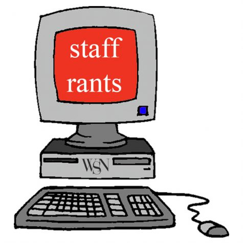 Staff Rants: Revolving Doors, April Weather and Dining Halls