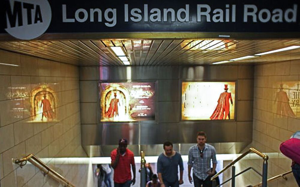 The Long Island Rail Road service resumed on Monday after a crash that injured over 30 people.