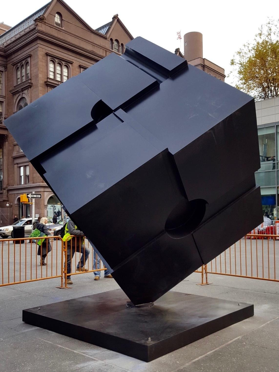 The Cube, originally installed in 1967, can be found on Astor Place in the East Village.